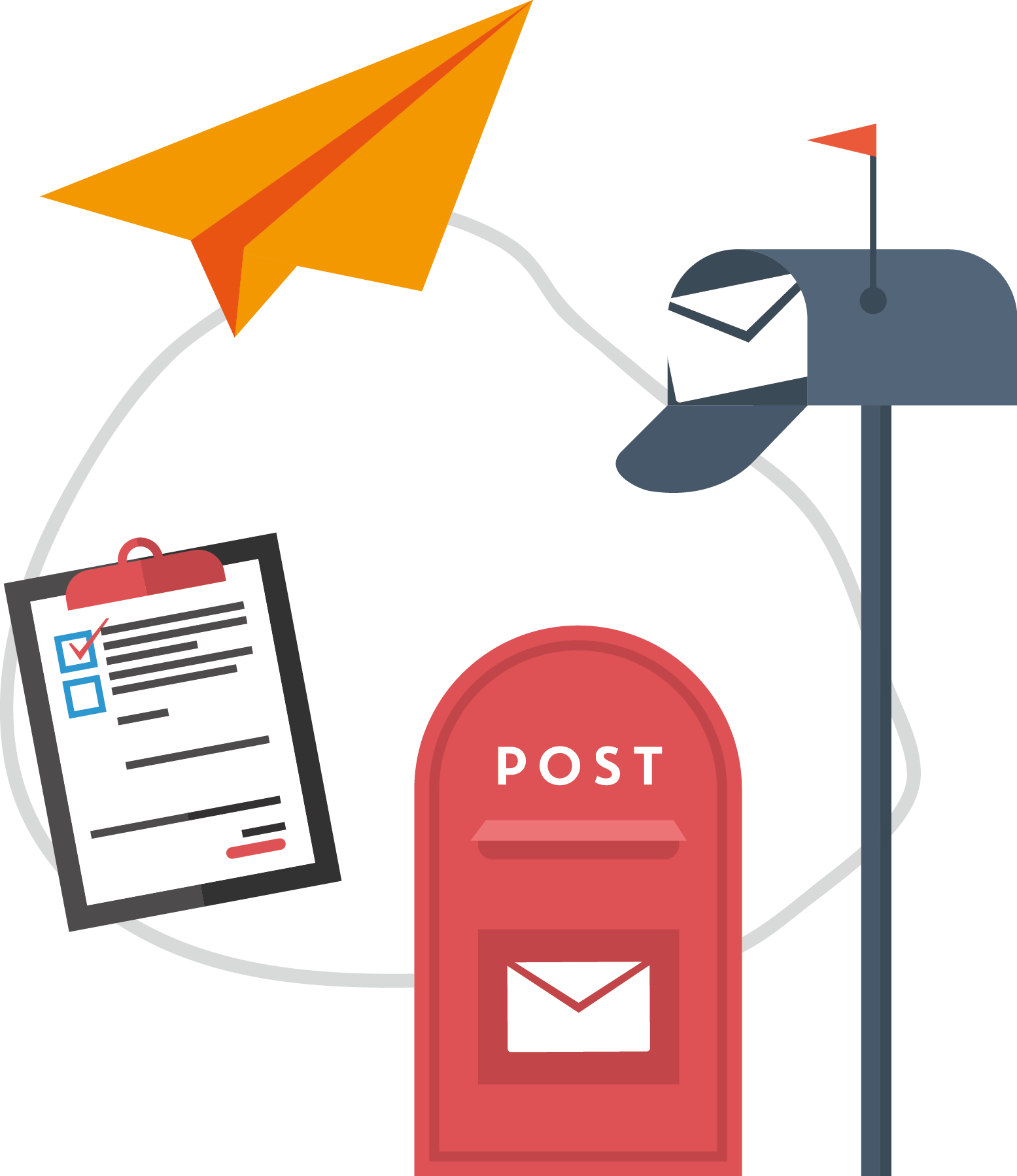 Pngtreemail delivery vector 1707279